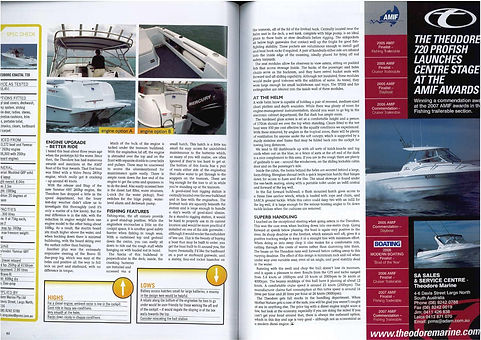 Article Blue Water Magazine Issue 66 Apr