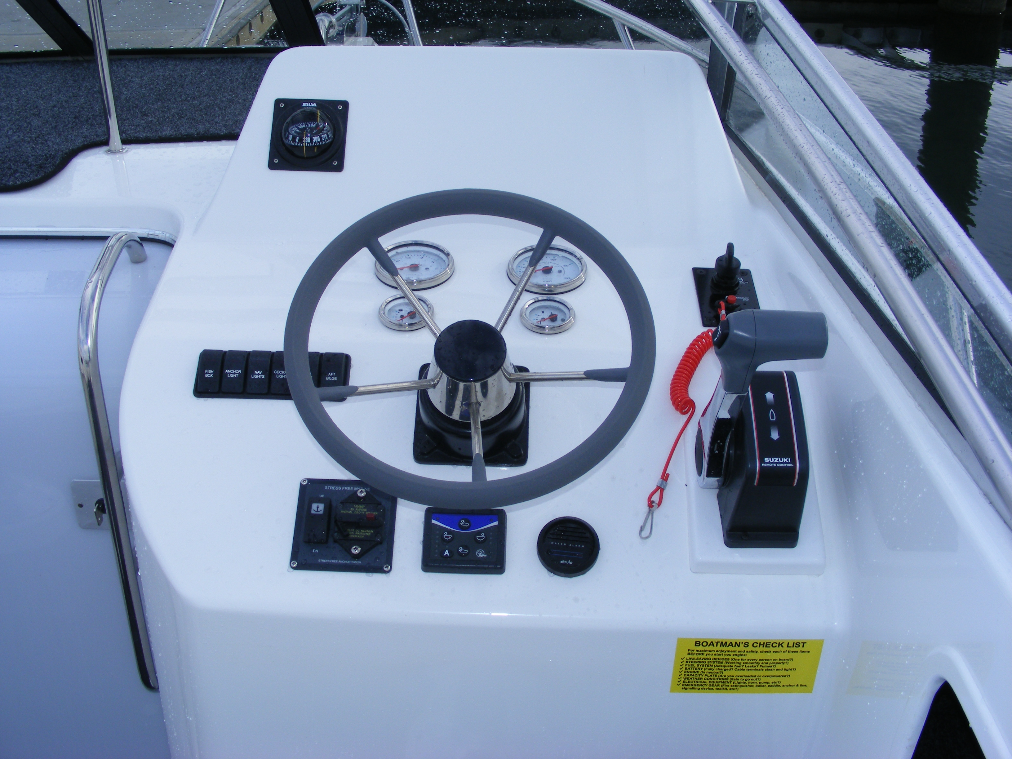 Coastal Bimini helm station