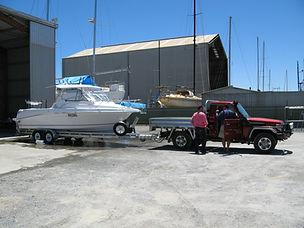 Theodore 720 coastal open hardtop, fibeglass fishing boat, trailerable