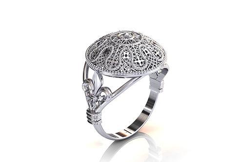 Prsten Čipka Pag 925 Srebro