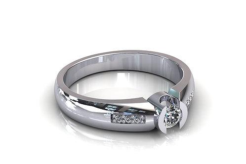 Prsten s dijamantima B182