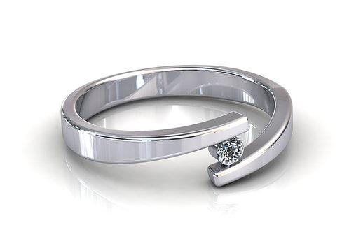 Prsten s dijamantima B183