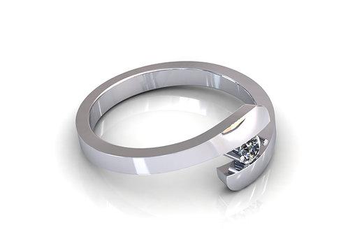Prsten s dijamantima B144