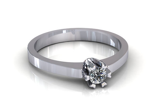 Prsten s dijamantima B138