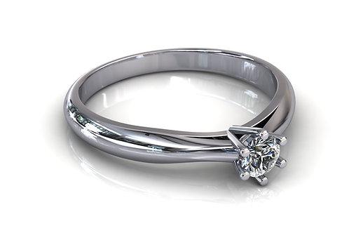 Prsten s dijamantima B198