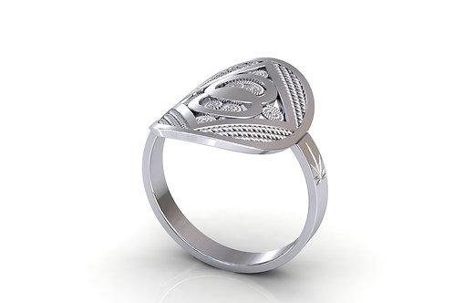 Prsten Pločaš D15 Srebro 925