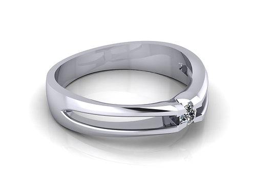 Prsten s dijamantima B131