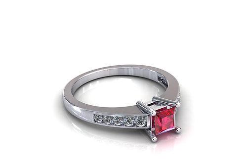 Prsten s dijamantima B210
