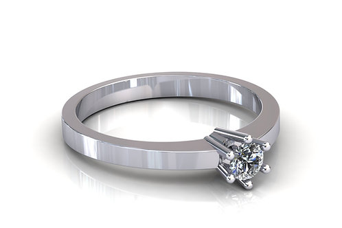 Prsten s dijamantima B137