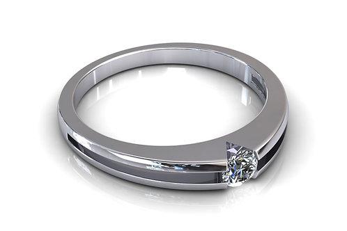 Prsten s dijamantima B102