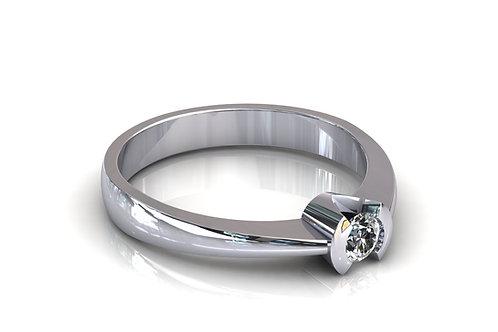 Prsten s dijamantima B181