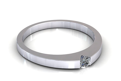 Prsten s dijamantima B104