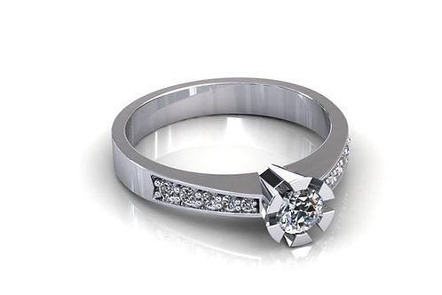 Prsten s dijamantima B171