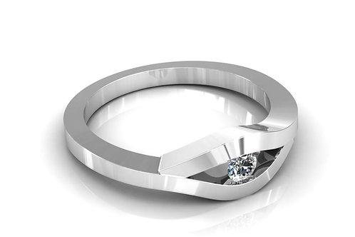 Prsten s dijamatima B132