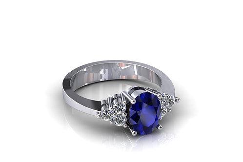 Prsten s dijamantima B238