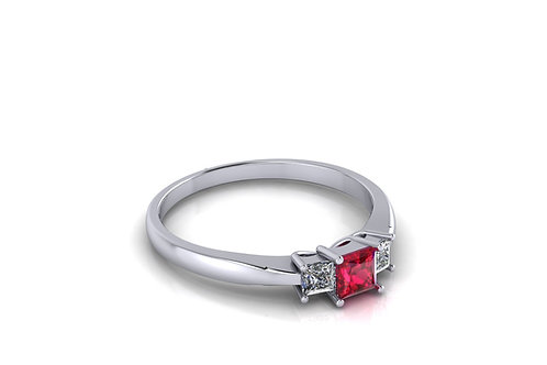 Prsten s dijamantima B240