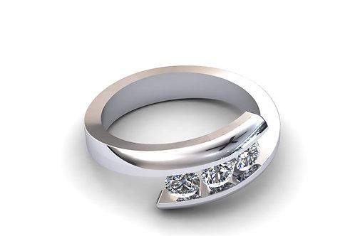 Prsten sa dijamantima B231