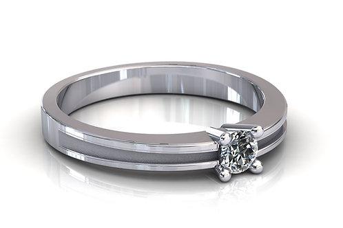 Prsten s dijamantima B190