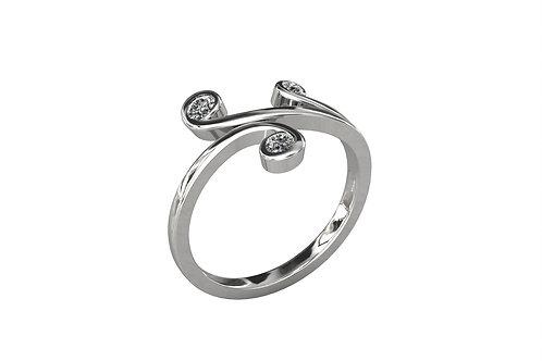 Prsten ZKB36 Srebro