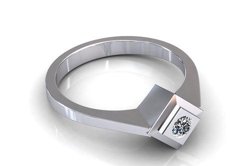 Prsten s dijamantima B112
