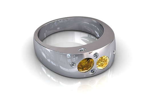 Prsten s dijamantima B193