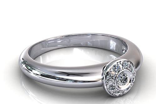 Prsten s kamenima B103