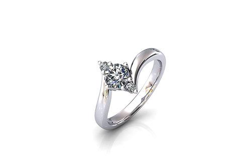 Prsten ZKB47 Srebro