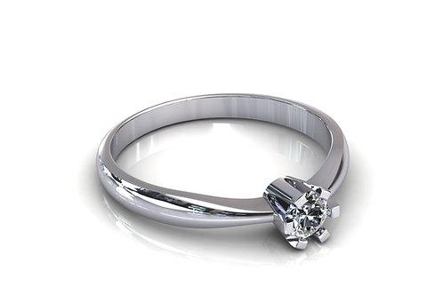 Prsten s dijamantima B180