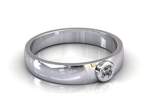 Prsten s dijamantima B160