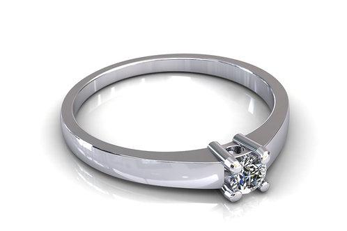 Prsten s dijamantima B111