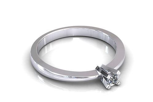 Prsten s dijamantima B110