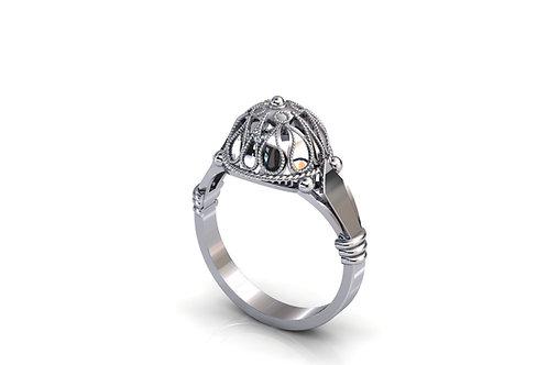 Prsten Dubrovačke Peružine M -srebro 92525