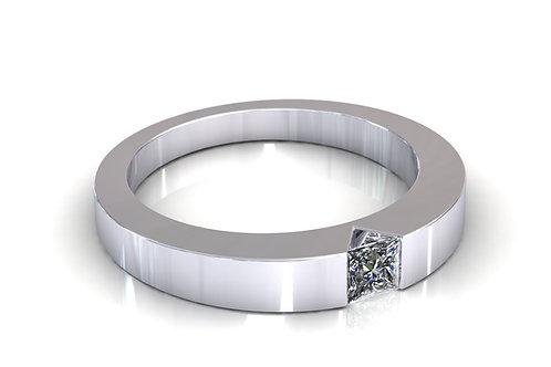 Prsten s dijamantima B105