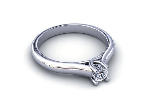 Prsten sa dijamantima B234