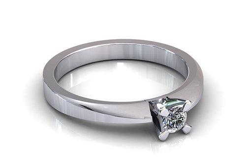Prsten s dijamantima B173