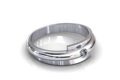Prsten sa dijamantima B213