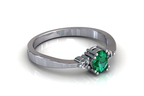 Prsten s dijamantima B191