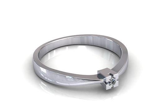 Prsten s dijamantina B134