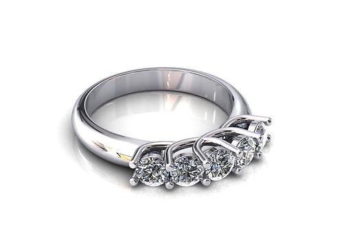 Prsten sa dijamantima B224