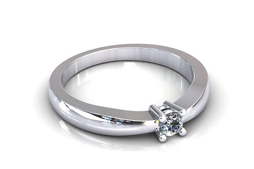 Prsten s dijamantima B109