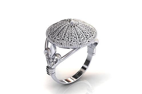Prsten Čipka Lepoglava 925 Srebro