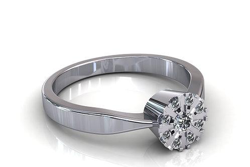 Prsten s dijamantima B186