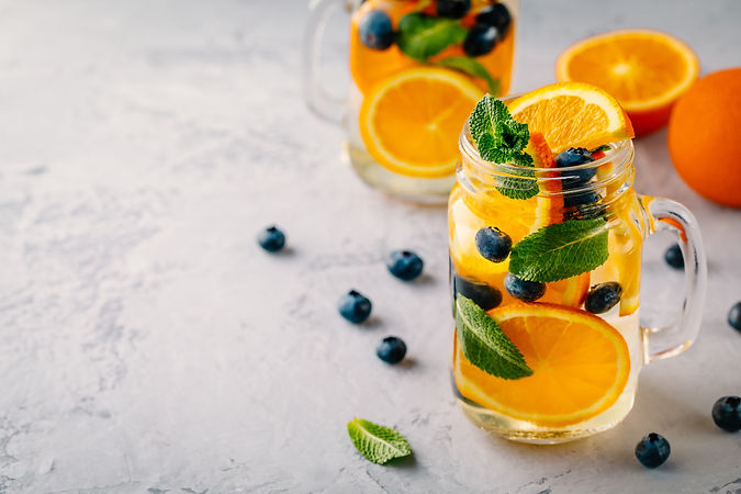 infused-detox-water-with-orange-blueberr