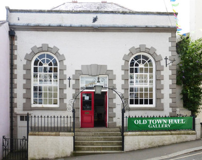 Exterior view of the Old Town Gallery, Falmouth, Cornwall