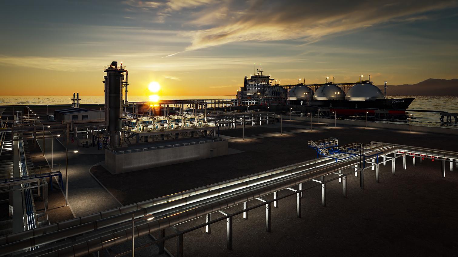 LNG Port Terminal