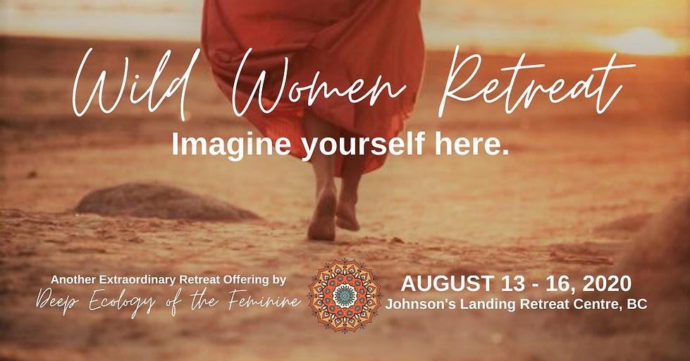 Wild Women Retreat Facebook post (ad) si