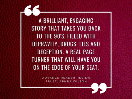 Advance reader reviews