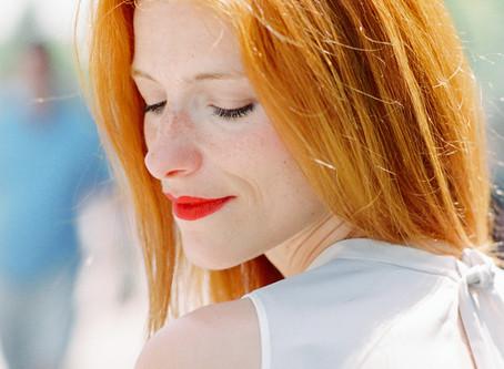 Como manter bonita a cor do cabelo Ruivo