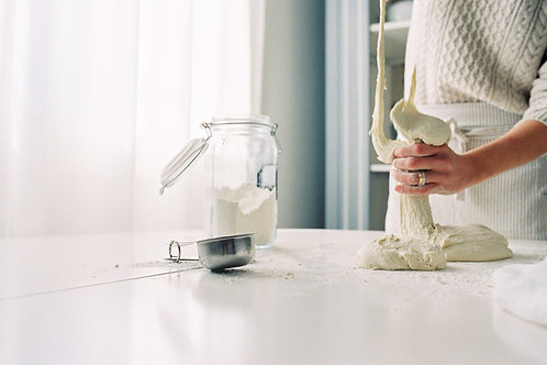 Dough Kneading Photography