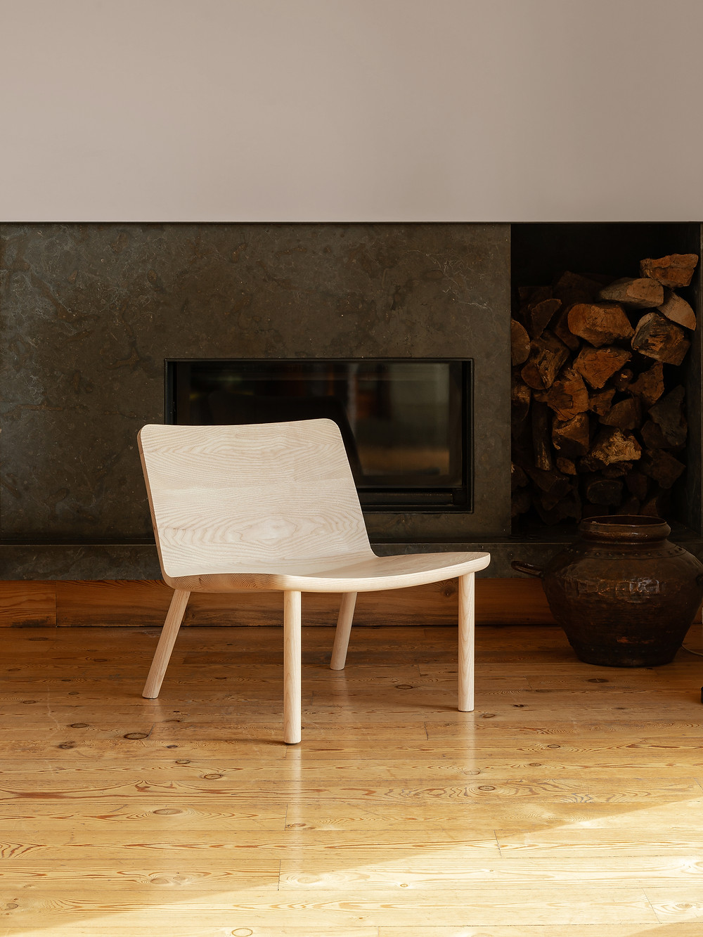 Wood Chair Minimal Design made in Portugal